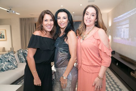 Andrea Neves Duarte, Claudia Brassaroto e Ana Malta