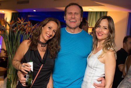 Bianca Guerra, Marco Oliveira e Paula Bummergann