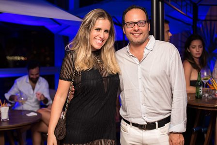 Bruna Barros e Omar Marzagao