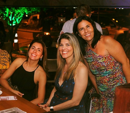 Carla Menezes, Dani Americano e Macarena Lobos