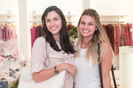 Caroline Haddad e Jaqueline Brands