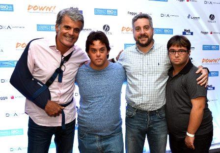Flavio Ramos , Breno Prisco , Luiz Antônio Benegas e Rfael Dias