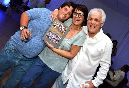 Breno Prisco , Monique Benoliel e Jorge Davidson