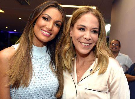 Patricia Poeta  e Julia Almeida