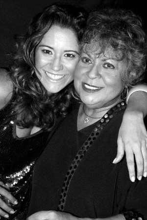 Maria Ria e Leny Andrade - Março 2008