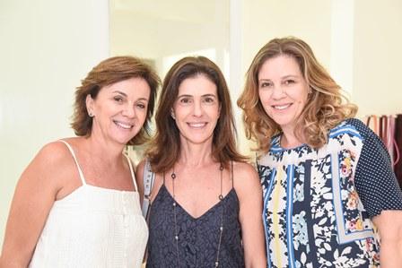 Lucia Silveira Lavinia Prado e Marcella Werneck