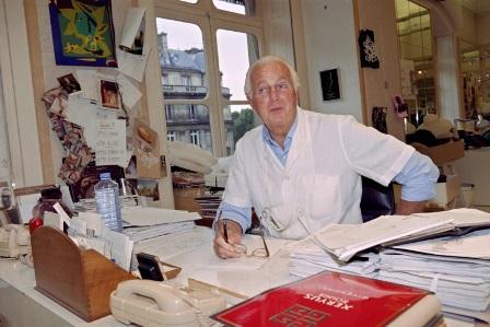 O estilista Hubert de Givenchy