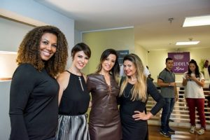 Julie Alves, Cinthia Gomes, Tatiana Maximo e Patrícia Coelho