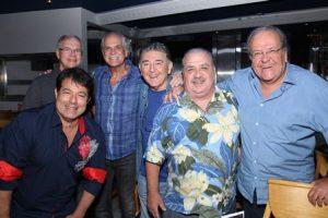 Mário Reis,  Alex Cohen, Edison Coelho, Miguel Plopschi , Mariozinho Rocha e Max Pierre