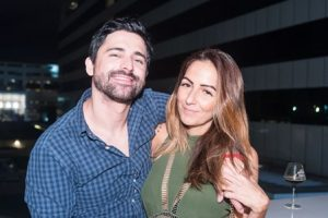 Anderson Thives e Angie Diniz