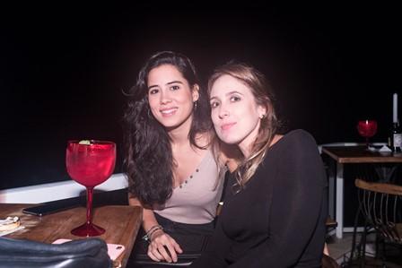 Andressa Benevides e Hannah Hazan