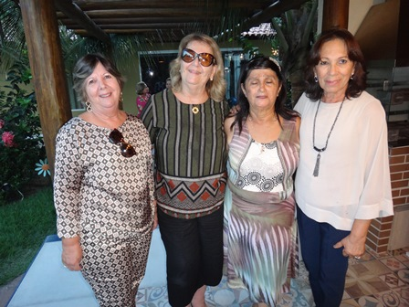 Célia Cerqueira, Maria Aparecida Kruschewsky, Cinira Soares e Eliana Rocha Carvalho Lima