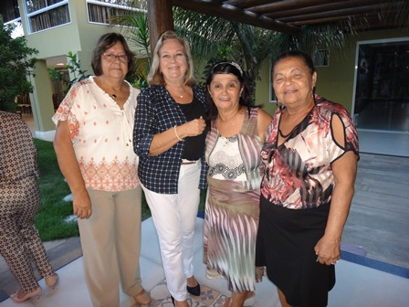 Carlota Oliveira, Martine Vergues Velloso e Darci Marques