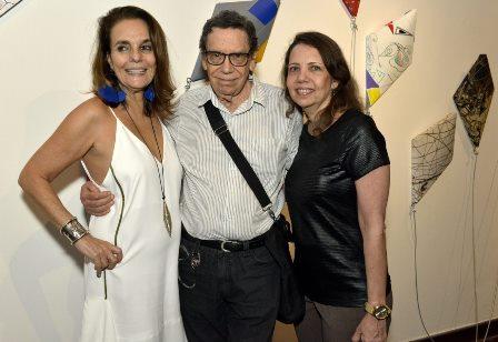 Patricia Secco , Lielzo Azambuja e Cecile Azambuja