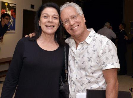 Tessy Callado e Sergio Fonta