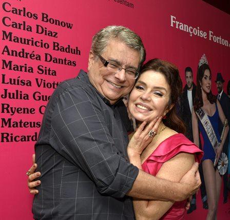 Flavio Marinho e Françoise Forton
