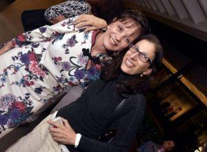 Tânia Pires e Karen Acioly