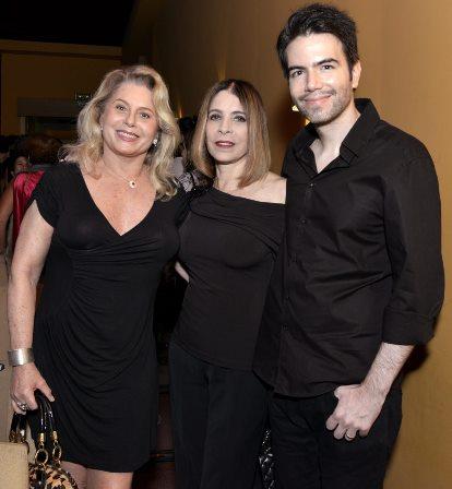 Vera Fischer , Liége Monteiro e Luiz Fernando Coutinho