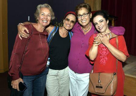 Stella Torreão , Zélia Duncan , Claudia Jimenz e Luciana Braga