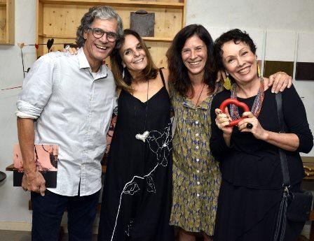 Ricardo Hachiya , Fernanda Pinto e Analu Prestes