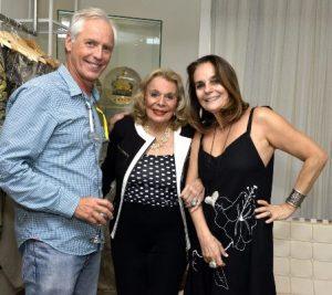 Sérgio Margullis , Lourdes Catão e Patricia Secco
