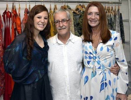 Branca Freire , Luiz Carlos Lacerda e Teresa Freire