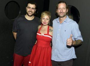 Sacha , Alessandra Debs e  Dan Maridor