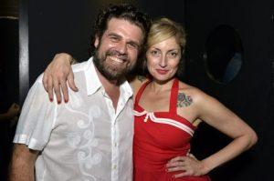 Linox e  Alessandra Debs