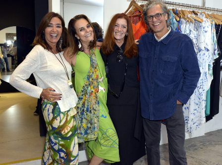 Lucia , Teresa Freire  , Patricia Secco  e Ricardo Hachiya