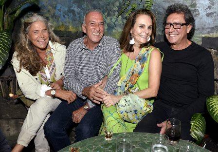 Keka Mendes , Luiz de Freitas ,  Patricia Secco e Zé Arara