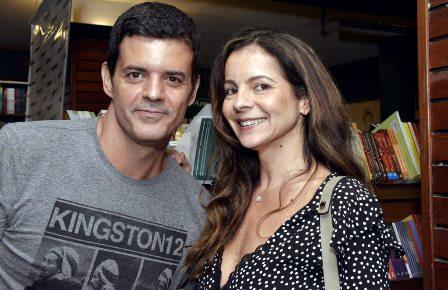 Jorge Pontual e Isabela Menezes