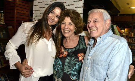 Cristina Lyra ,  Maria Helena e Carlos  Lyra
