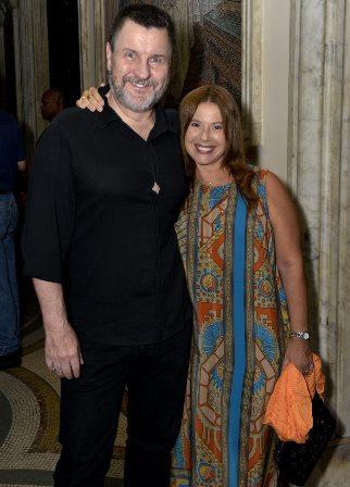 Antônio Calloni e Ilse Rodrigues