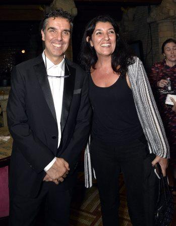 Pier Francesco Maestrini e sua irmã Sabrina Riso