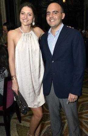 Isabelle Sawetz  e Antônio Paulo Pitanguy Muller