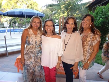 Gicélia Machado , Soraya Caribé, Eliana Rocha Carvalho Lima, e Eliana Carvalho