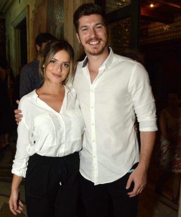 Julia Konrad e Caio Paduan