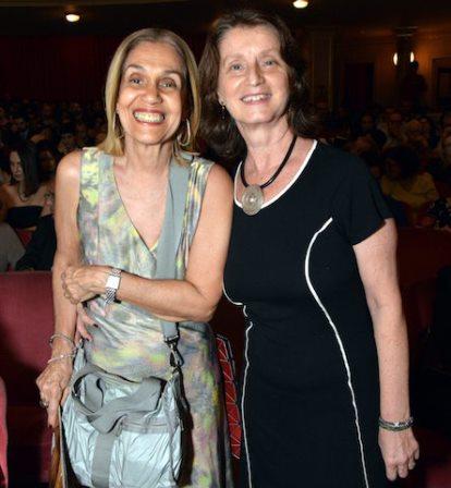 Loreta Burlamaqui e Christina Moreira