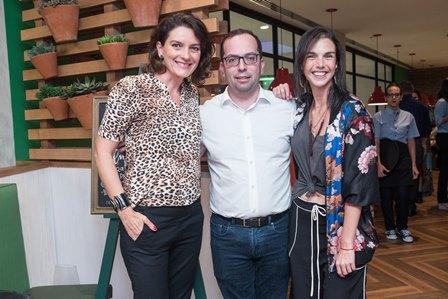 Melissa Jannuzzi Pierre Berenstein e Roberta Castello Branco
