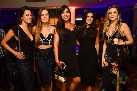 Renata Dantas, Luisa França, Mariana Lipkin, Maria Cabral e Cíntia Lima