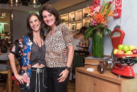 Roberta Castello Branco e Melissa Jannuzzi
