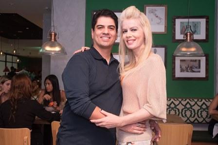 Rodrigo Raposso e Giovanna Prioli