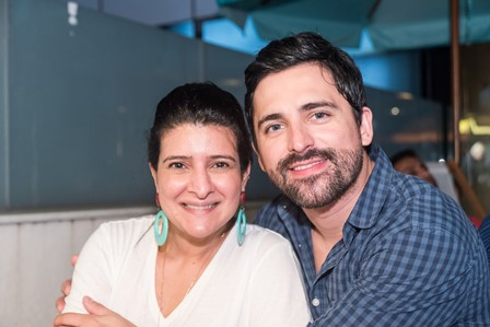 Mariana Fonseca e Anderson Thives