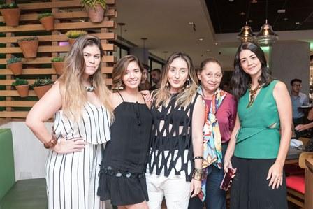 Nathy Turra Layla da Fonseca ERICA BOURGUIGNON Graça Soares e Renata Bitencourt -