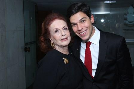 Eliana Moura e Luiz Guilherme