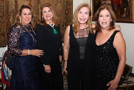 Teresa Macedo, Sylvia Machado, Constância Castelo Branco, Sylvia de  Castro