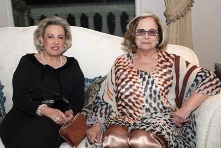 Maria Célia Moraes e Hildegard Angel