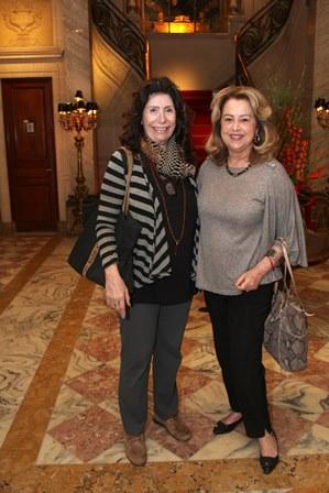 Anna Maria Tornaghi e Diana Vianna