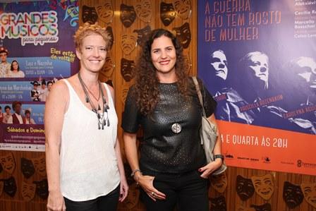 Marianaetting e Renata Rozenbaum