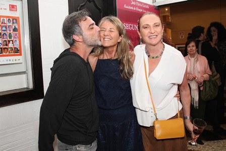 Marcelo Valle, Priscilla Rozenbaum e Debora Olivieri